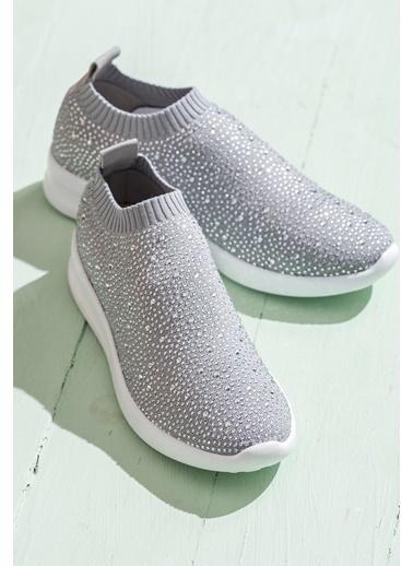 Kumaş Ayakkabı-Elle